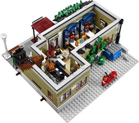 #10243 LEGO Parisian Restaurant Back View