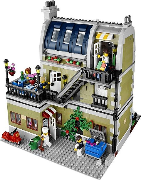 #10243 LEGO Parisian Restaurant Back