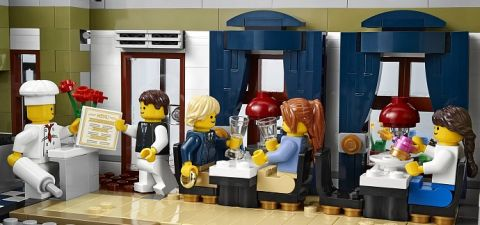 #10243 LEGO Parisian Restaurant Dining