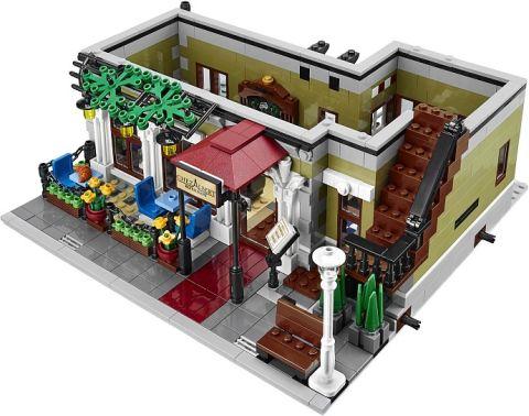 #10243 LEGO Parisian Restaurant Front Corner