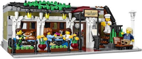 #10243 LEGO Parisian Restaurant Outside Dining