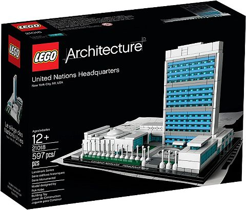 #21018 LEGO Architecture United Nations Headquarters