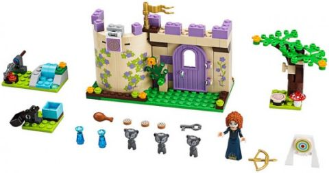 #41051 LEGO Disney Princess Details