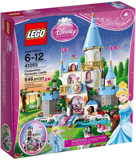 #41055 LEGO Disney Princess Cindarella's Romantic Castle