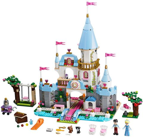 #41055 LEGO Disney Princess Details