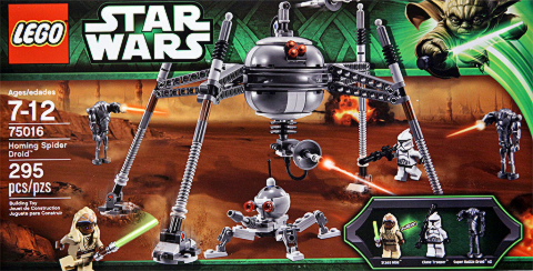 #75016 LEGO Star Wars Homing Spider Droid Review