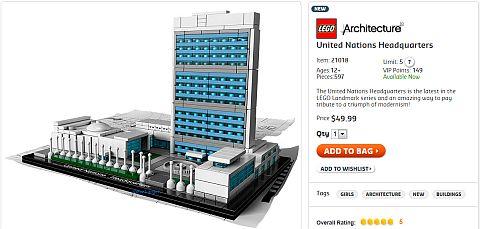 Buy LEGO Architecture UN Headquarters
