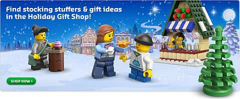 Chritsmas LEGO Shopping LEGO Stocking Stuffers