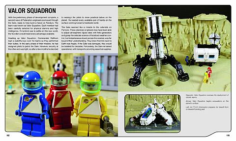 LEGO Book Review - LEGO Space Building the Future Details