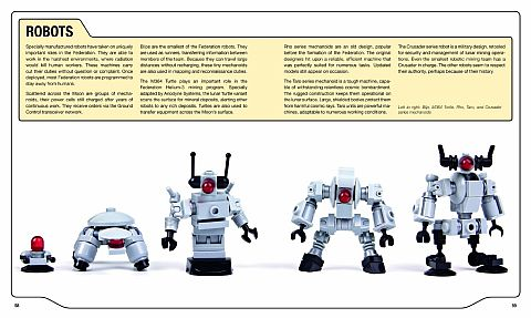 LEGO Book Review - LEGO Space Building the Future Robots