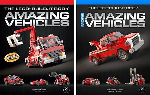 LEGO Books - Amazing Vehicles