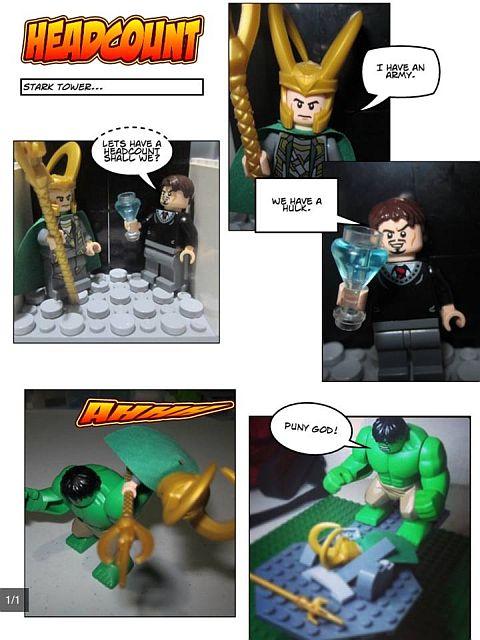 LEGO Challenge MOCtober Comic