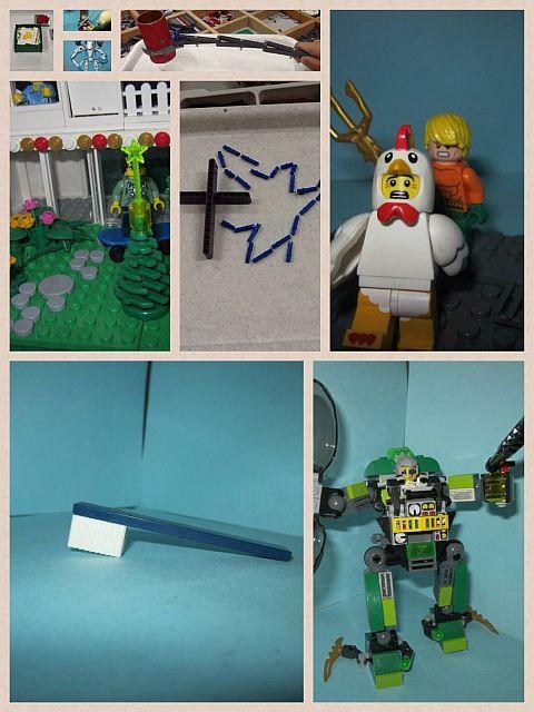 LEGO Challenge MOCtober entries