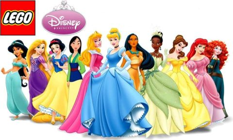 LEGO Disney Princess Sets Coming