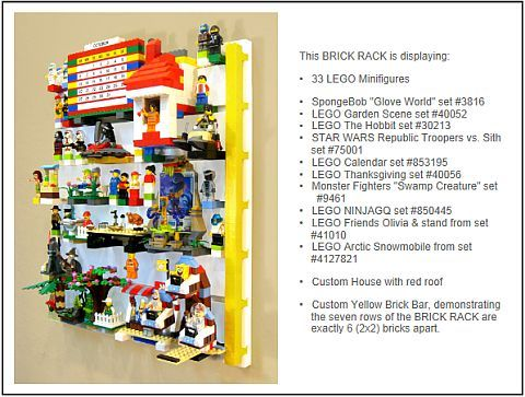 LEGO Display System by BrickRack
