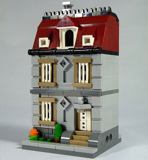 LEGO Micro Building by moctown