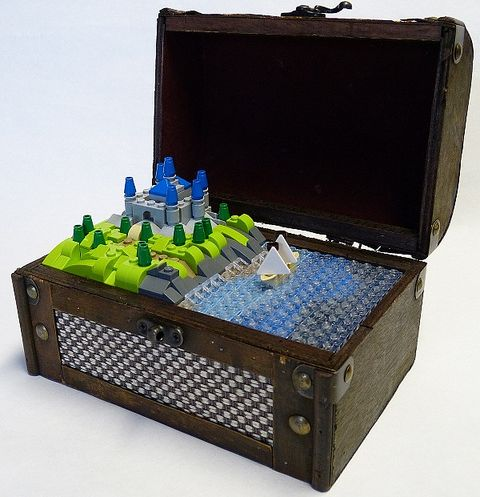 LEGO Treasure Box by Dodge