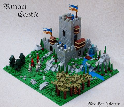 LEGO Micro Scale Castle by Brother Stephen