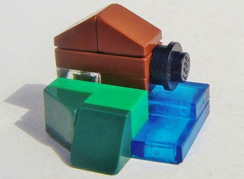 LEGO Micro Scale Waterwheel by Geneva