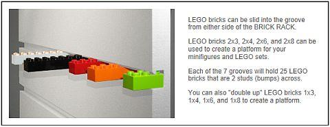 LEGO Minifig Display by BrickRack