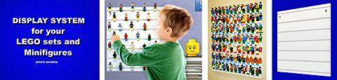 LEGO Minifigure Display by BrickRack