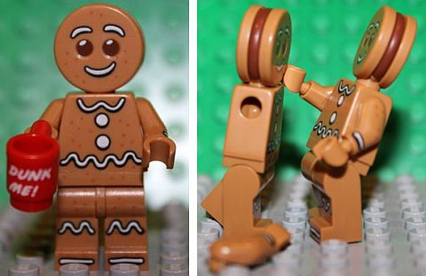 LEGO Minifigures Series 11 - Gingerbread Man