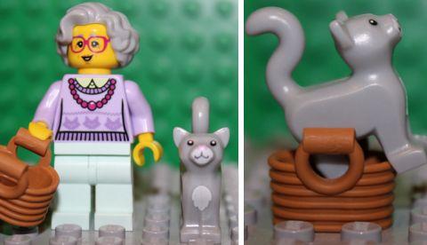 LEGO Minifigures Series 11 - Grandma