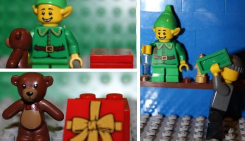 LEGO Minifigures Series 11 - Holiday Elf