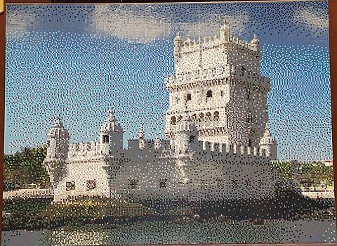 LEGO Mosaic by Portugese LUG