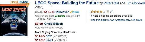 LEGO Space Building the Future on Amazon