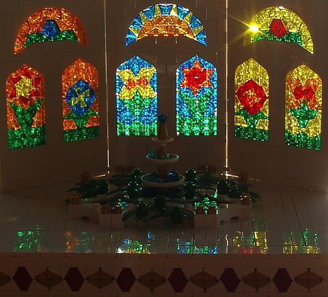 LEGO Stained Glass Windows by eilonwy77