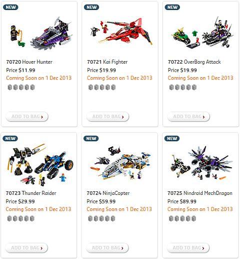 Shop for 2014 LEGO Ninjago Sets
