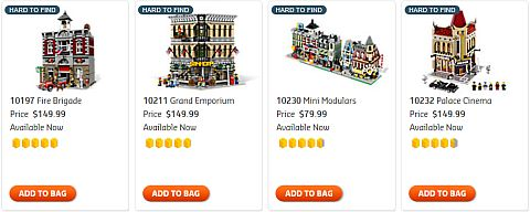 Shop for LEGO Christmas Modular Buildings