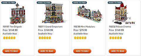 Shop for LEGO Christmas Modular Buildings