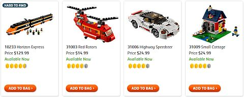Shop for LEGO Christmas Sets for AFOLs