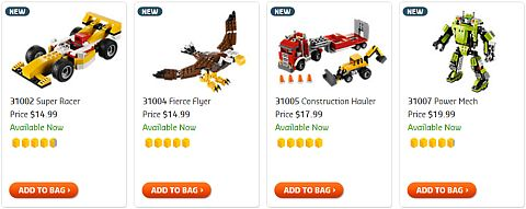 Shop for LEGO Christmas Sets for Boys