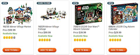 Shop for LEGO Christmas Sets for Families