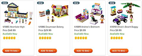 Shop for LEGO Christmas Sets for Girls