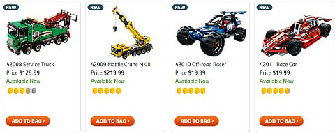 Shop for LEGO Christmas Sets for Teens