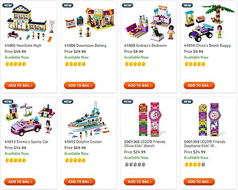 Shop for LEGO Friends Sets