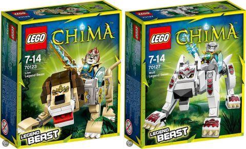 2014 LEGO Chima Legend Beasts