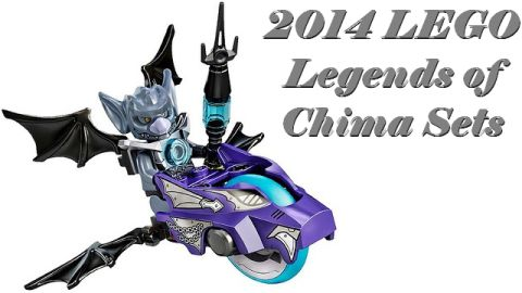 2014 LEGO Chima Sets Review