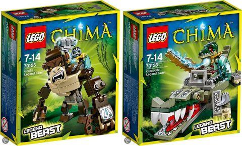 2014 LEGO Legend of Chima Beast Sets