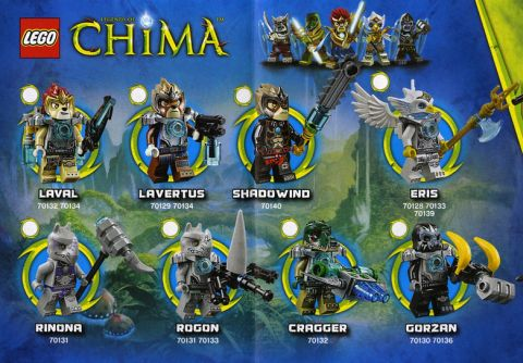 2014 LEGO Legends of Chima Good Tribes