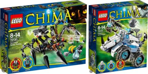 2014 LEGO Legends of Chima sets