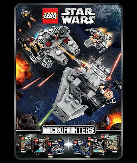 2014 LEGO Star Wars Micro Fighters