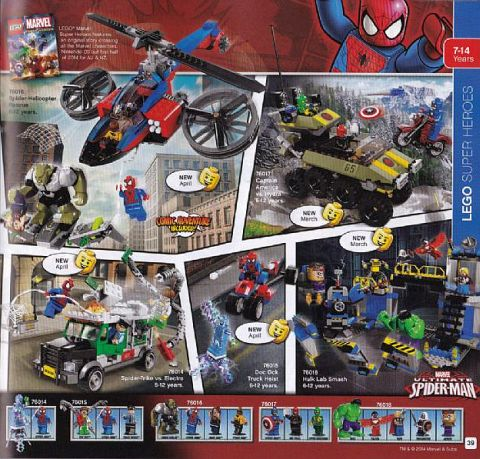 2014 LEGO Super Heroes Sets