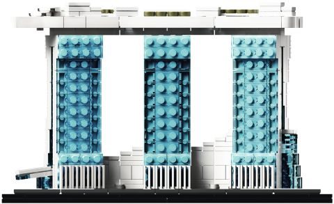 #21021 LEGO Architecture Marina Bay Sands - Back