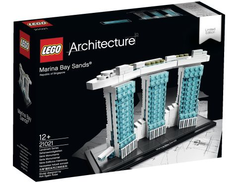 #21021 LEGO Architecture Marina Bay Sands - Box