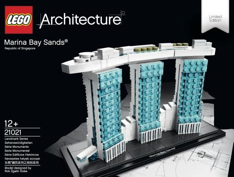 #21021 LEGO Architecture Marina Bay Sands Review